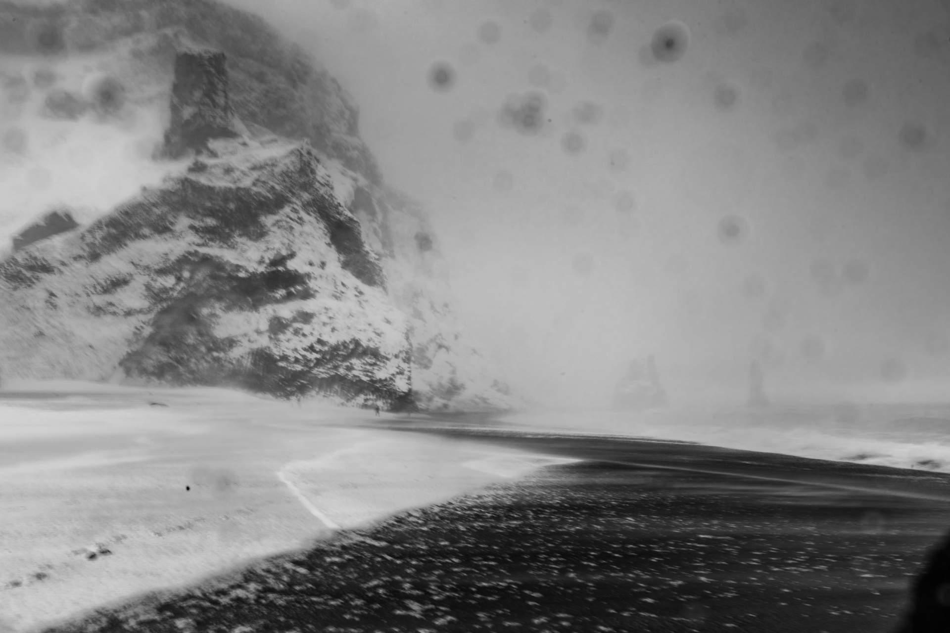 Schwarzer Sandstrand Reynisfjara, Island
