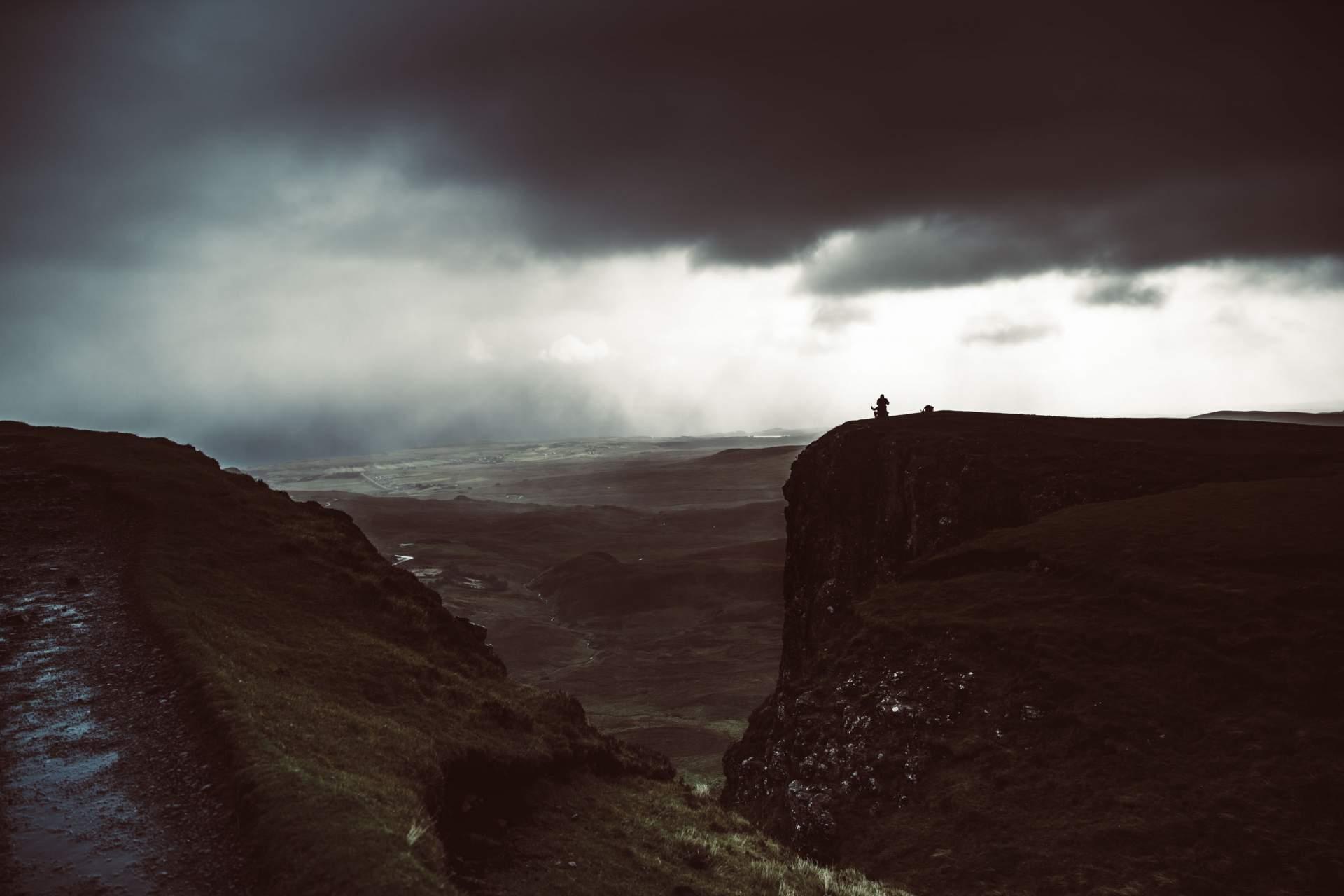 Regen in Schottland