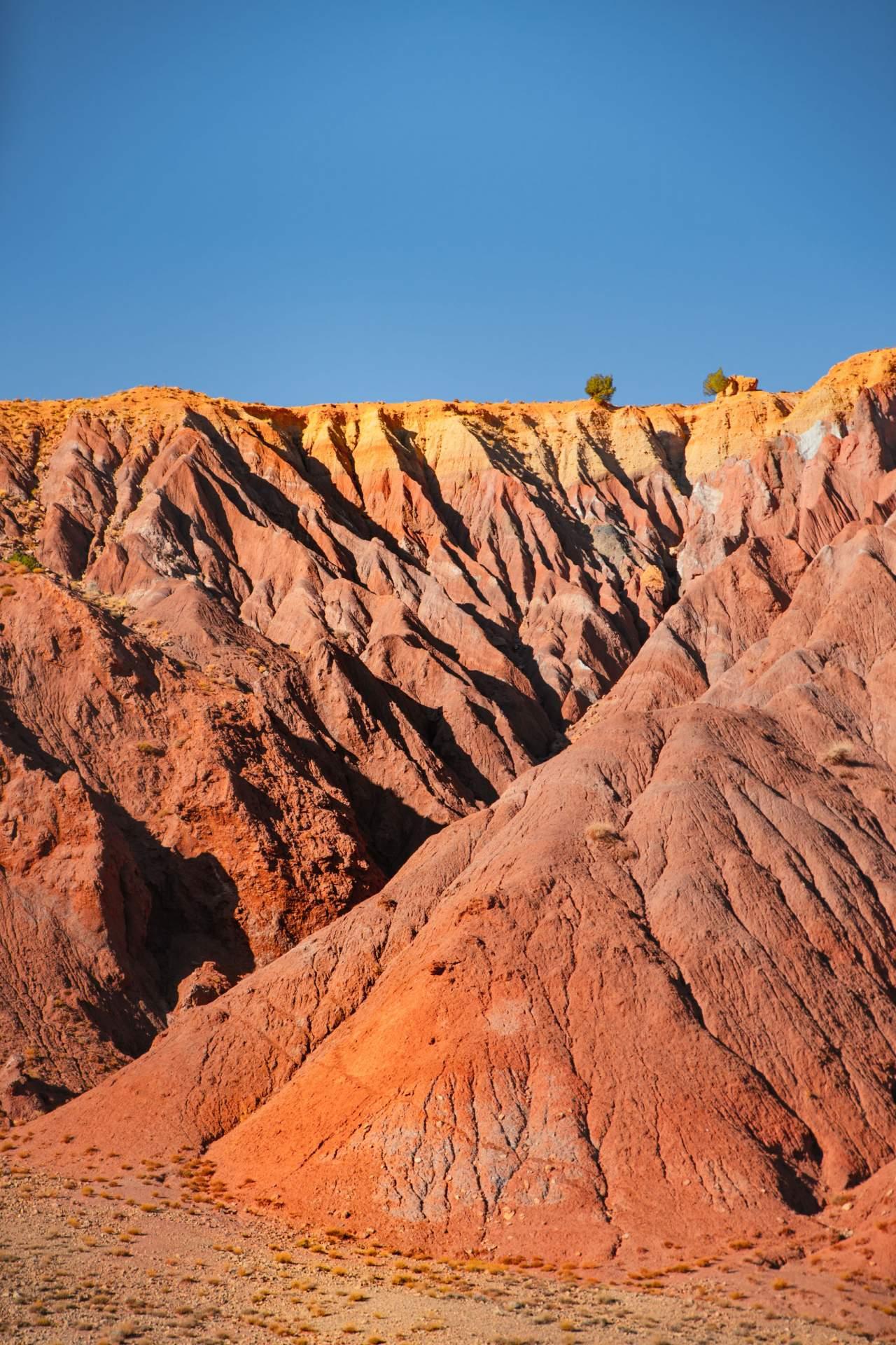 Steinwüste in Marokko