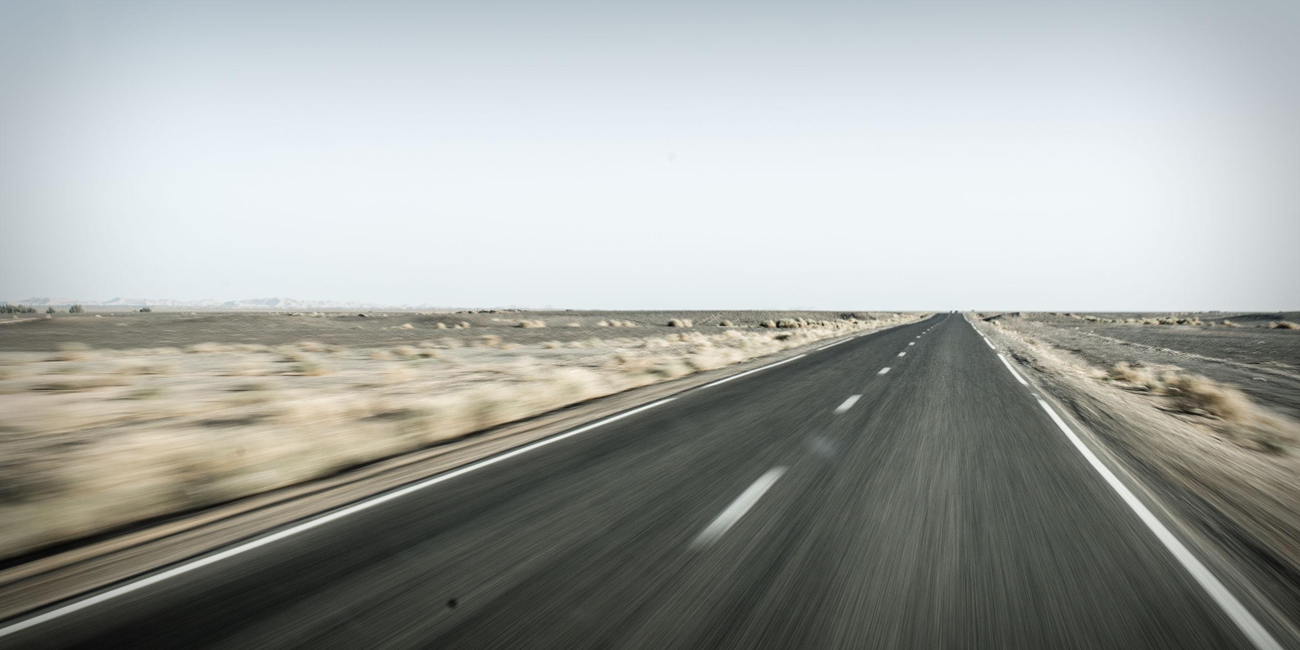 Entlang der Wüstenstraße
