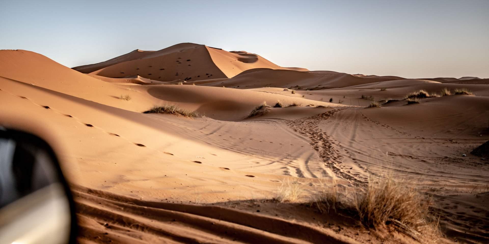 Sandwüste in Marokko